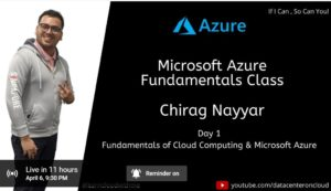 Microsoft Azure Learning Day 1