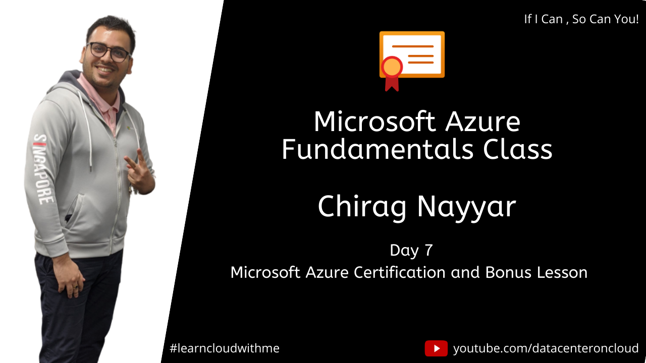 Microsoft Azure Learning Day 7